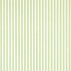 Leaf Green / Ivory - DCAVTP103 - New Tiger Stripe - Caverley - Sanderson Wallpaper
