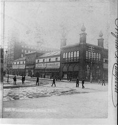 Old Wanamaker's Building | Currently a Macy's department store located on Juniper and Market Streets.  #SEPTA