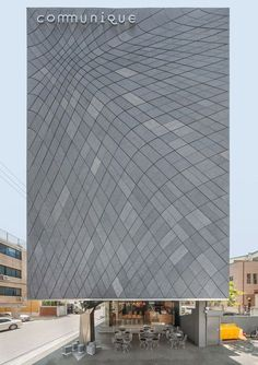 Daewha Kang uses mirrored stainless steel to transform Communique HQ - Retailand Office Design