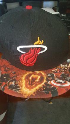 New Era NBA marvel heros miami heat Adjustable snapback hat e88a80a91b8