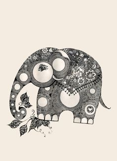 elephant for luck by ~lindzb on deviantART