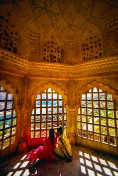 Inside Amber Fort, Rajasthan, India