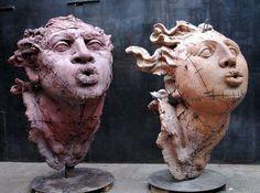 ☥ Figurative Ceramic Sculpture ☥ Javier Marin