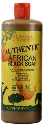 This African black soap by Alaffia is great for acne prone skin but is not limited to just that. It's a multitasking power house! Hair, face, body,and you can even use it on your babies!!! http://www.greengrabbag.com/archives/category/skin-care/body