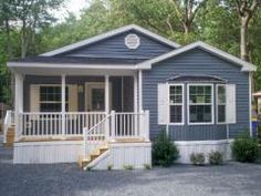 This is a manufactured home! Look how cute it is!  (2014 Redman)