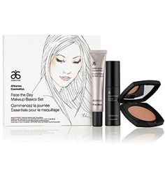 Start off your beauty routine with this must-have set that has everything you need to achieve a natural-looking, gorgeous, glowing complexion. Limited edition, while supplies last. A $116 value, for $104. Includes: Makeup Primer Bronzer Sheer Glow Highlighter Calm Gentle Daily Cleanser Sample Tube  - See more at: https://www.arbonne.com/shop_online/showitem.asp?ProductId=7494&menuId=281&withLinks=1#sthash.dvfBBF60.dpuf