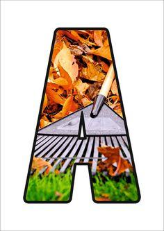Monogram Alphabet, Autumn Activities, Preschool, Lettering, Crafts, Alphabet, Lyrics, 1st Grades, Preschools