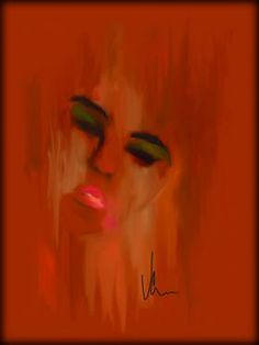 "Saatchi Art Artist Vernon Crumrine; Drawing, ""Lady"" #art"
