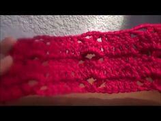 Puntada a crochet linda y fácil. Muestra No. 7 - YouTube