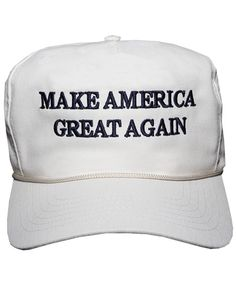 8cf039de7692d The Donald J Trump Make America Great Again! Structured cap in white with  embroidered logo