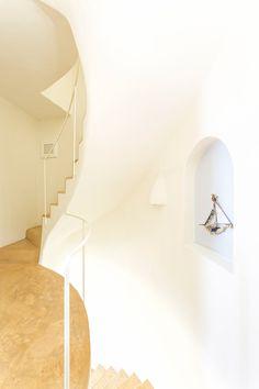 | WINDMILL VILLAS | Luxury Boutique Villas and Suites in Santorini Windmill, Santorini, Villas, Wall Lights, Boutique, Lighting, Luxury, Green, Home Decor