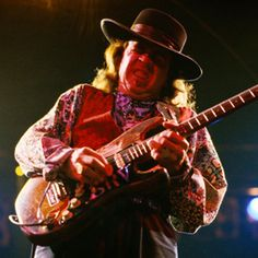 Stevie Ray Vaughan taught us the blues.