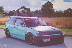 Honda Vtec, Honda Civic Hatchback, Civic Ef, Jdm Wallpaper, Japan Cars, Car Tuning, Car Girls, Dream Cars, Osaka