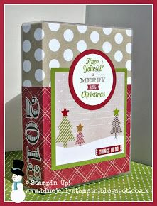 Stampin' Up! Christmas Holiday Planner in a Box Tutorial