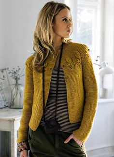 Great jacket with patterned top