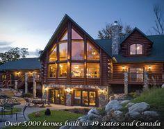 Golden Eagle Log Homes - Lakehouse