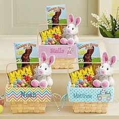 Personalized All-In-One Easter Basket