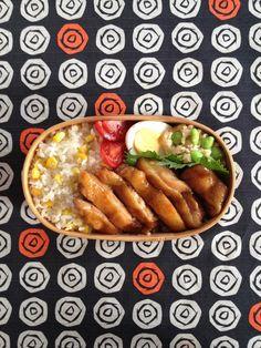 Teriyaki Chicken Bento Lunch (Japan) 照焼きチキン弁当