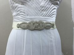A personal favourite from my Etsy shop https://www.etsy.com/in-en/listing/400456481/wedding-belt