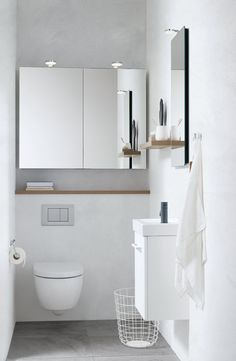 Are you looking to change your cloakroom, ensuite or bathroom? We offer a FREE quotation and consultation with one of our bathroom experts! 📲 Vintage Glass Pendant Adds Texture, Historic Feel to Bathroom Narrow Bathroom, Downstairs Bathroom, Bad Inspiration, Bathroom Inspiration, Cabinet Above Toilet, Natural Bathroom, Bathroom Goals, Mirror Cabinets, Bathrooms Decor