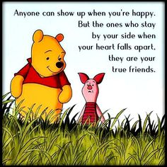 Your true friends Dog Best Friend Quotes, Best Friends Funny, True Friends, Friends In Love, Quotes About Missing Friends, Best Friend Quotes Meaningful, Winnie The Pooh Quotes, Winnie The Pooh Friends, Pooh Bear