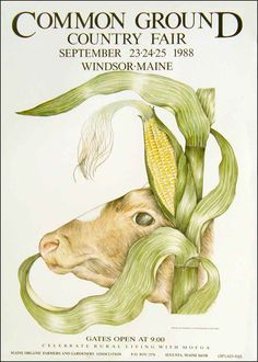 Maine Organic Farmers and Gardeners Association > The Fair > Poster >1988
