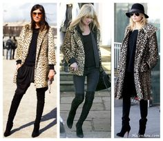 Accessorize Leopard Coat: Go Black Or Go Bold
