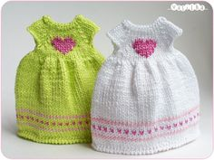 "2 dresses ""with love"" 