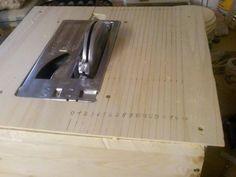 kreiss getisch f r bosch pts 10 bauanleitung zum selber bauen diy homemade pinterest. Black Bedroom Furniture Sets. Home Design Ideas
