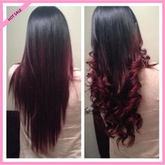 straight brazilian hair weave | ... Straight-3pcs-100-Brazilian-Virgin-Remy-Hair-Ombre-Weave-ombre-hair