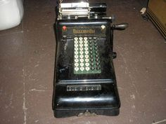 Burroughs Adding Machine.