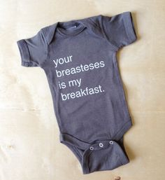 Inspired by Queen Beyonce, this design is perfect for pro-breastfeeding mommies and people with a sense of humor :) This makes a GREAT gift!!