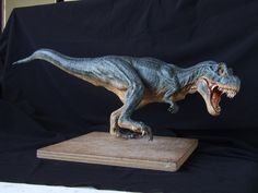 Another view of my T-rex sculpt. from head to tail Sculpted in super sculpey and the painted with acrylics. Thanks for looking Terry T-Rex sculpt in super sculpey, pic 2 Jurassic Park Toys, Jurassic World, King Kong Skull Island, Nile Crocodile, Polymer Clay Animals, Extinct Animals, Cute Dragons, Dinosaur Art, The Revenant