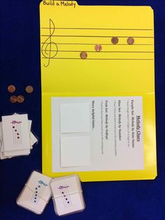 Folder Games - a quick minute game at the bench - easy to organize and store!