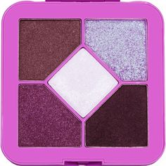 Lime Crime Pocket Candy Eyeshadow Palette Sugar Plum  90's Style Eyeshadow Palette with 5 Full Sized Colors. * Be sure to check out this awesome product. (This is an affiliate link) #Makeup