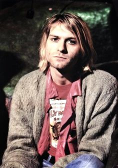 Look at the mediocrity and blatantly unacceptable stuff we do to each other and the planet. Look at what we accept in our lives by just saying it's out of our control, we can't do anything about it, and it's not our fault. -Kurt Cobain
