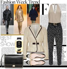 """""""Fashion Trend: Cropped Trousers"""" by sheryl-lee ❤ liked on Polyvore"""
