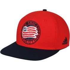 best service ee6bd 8392a Men s New England Revolution adidas Red Navy Two-Tone Adjustable Snapback  Hat, Your