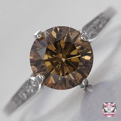 brown diamond rings - Google Search