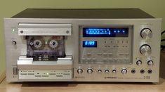 Cassette Recorder, Tape Recorder, Hifi Stereo, Hifi Audio, Recording Equipment, Audio Equipment, Pioneer Decks, Pioneer Audio, Audio Rack