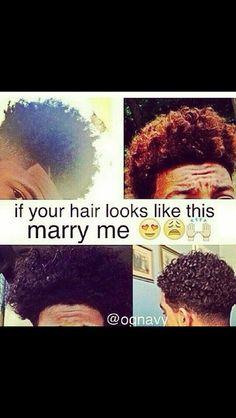 If your hair looks like this marry me - Cute Black Guys, Black Boys, Cute Guys, Black Men, Fine Boys, Fine Men, Light Skin, Dark Skin, Bae