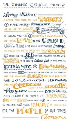 The Dynamic Catholic Prayer