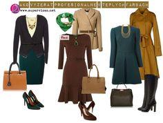 Ako vyzerať profesionálne v teplých farbách