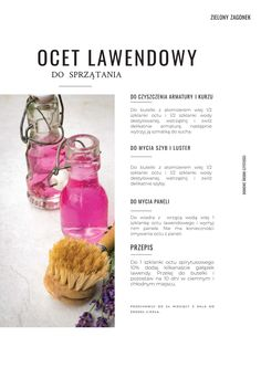 Ocet lawendowy do sprzątania In Case Of Emergency, Green Cleaning, Home Recipes, Diy Projects To Try, Natural Living, Cleaning Hacks, Diy And Crafts, Beauty Hacks, Herbs