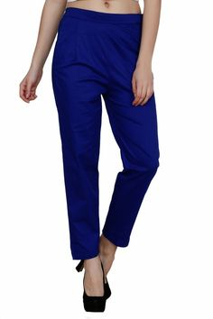 #Apparels #Women #Formal Wear #Trousers  LGC pants/Trousers/Cigarette Pants are made from a soft, stretchable and comfortable cotton. These Pants would keep you comfortable and stylish all day long. You could pair these pants/ trousers with a formal shirt, a top, a kurti, or even a crop top. A must have for every wardrobe. Please check the size details mentioned in the product charecterstics.