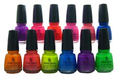 China Glaze's new Summer Neons collection