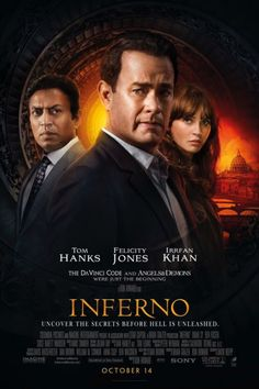 New Movie Posters for Inferno