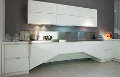 Simple Futuristic Kitchen Design by Florida- Mesh