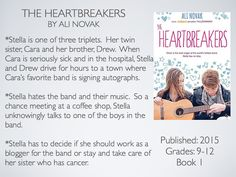 Young Adult Reading Machine: The Heartbreakers by Ali Novak