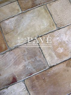 Pavé Tile, Wood & Stone, Inc. > French Reclaimed Terra Cotta Tile: French Reclaimed Terra Cotta Tile Flooring